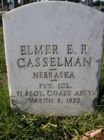 CASSELMAN, ELMER E. R. - Dawes County, Nebraska | ELMER E. R. CASSELMAN - Nebraska Gravestone Photos