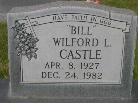 "CASTLE, WILFORD L. ""BILL"" - Dawes County, Nebraska | WILFORD L. ""BILL"" CASTLE - Nebraska Gravestone Photos"