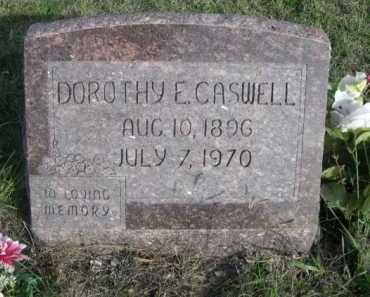 CASWELL, DOROTHY E. - Dawes County, Nebraska   DOROTHY E. CASWELL - Nebraska Gravestone Photos