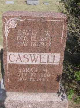 CASWELL, DAVID W. - Dawes County, Nebraska | DAVID W. CASWELL - Nebraska Gravestone Photos