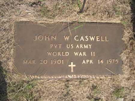 CASWELL, JOHN W. - Dawes County, Nebraska   JOHN W. CASWELL - Nebraska Gravestone Photos