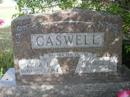 CASWELL, LURA E. - Dawes County, Nebraska | LURA E. CASWELL - Nebraska Gravestone Photos
