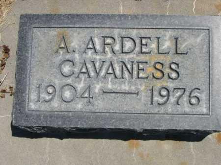 CAVANESS, A. ARDELL - Dawes County, Nebraska | A. ARDELL CAVANESS - Nebraska Gravestone Photos