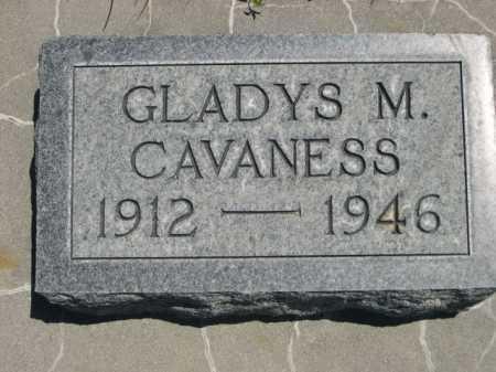 CAVANESS, GLADYS M. - Dawes County, Nebraska | GLADYS M. CAVANESS - Nebraska Gravestone Photos