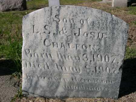 CHALFON, SON OF L.S. & JOSIE - Dawes County, Nebraska | SON OF L.S. & JOSIE CHALFON - Nebraska Gravestone Photos