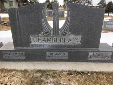 CHAMBERLAIN, JANICE M - Dawes County, Nebraska | JANICE M CHAMBERLAIN - Nebraska Gravestone Photos