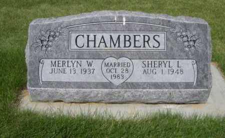 CHAMBERS, SHERYL L. - Dawes County, Nebraska | SHERYL L. CHAMBERS - Nebraska Gravestone Photos
