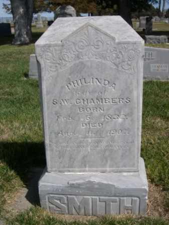 CHAMBERS, PHILINDA - Dawes County, Nebraska   PHILINDA CHAMBERS - Nebraska Gravestone Photos