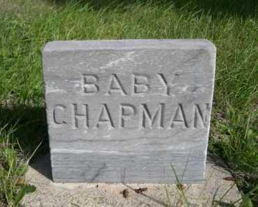 CHAPMAN, BABY - Dawes County, Nebraska   BABY CHAPMAN - Nebraska Gravestone Photos