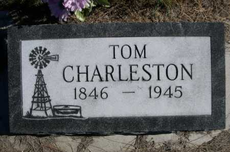 CHARLESTON, TOM - Dawes County, Nebraska | TOM CHARLESTON - Nebraska Gravestone Photos