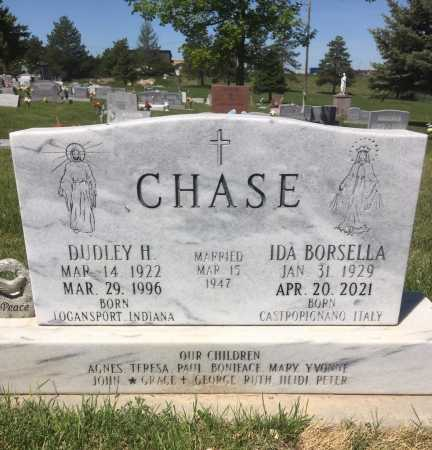 BORSELLA CHASE, IDA - Dawes County, Nebraska   IDA BORSELLA CHASE - Nebraska Gravestone Photos
