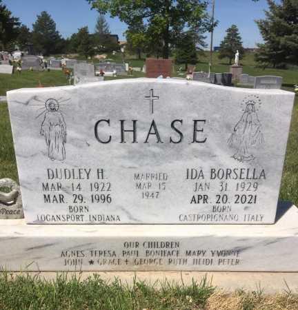 BORSELLA CHASE, IDA - Dawes County, Nebraska | IDA BORSELLA CHASE - Nebraska Gravestone Photos