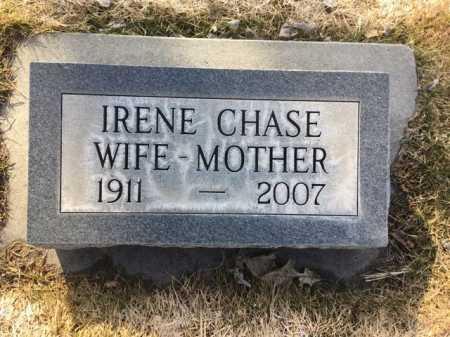CHASE, IRENE - Dawes County, Nebraska | IRENE CHASE - Nebraska Gravestone Photos