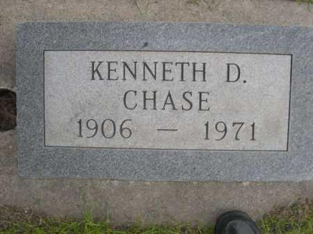 CHASE, KENNETH D. - Dawes County, Nebraska   KENNETH D. CHASE - Nebraska Gravestone Photos