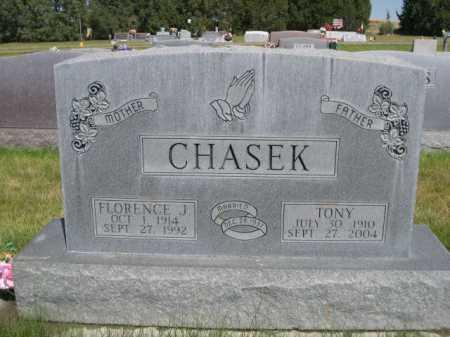 CHASEK, FLORENCE J. - Dawes County, Nebraska | FLORENCE J. CHASEK - Nebraska Gravestone Photos