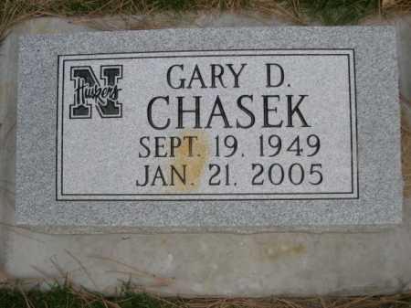 CHASEK, GARY D. - Dawes County, Nebraska | GARY D. CHASEK - Nebraska Gravestone Photos