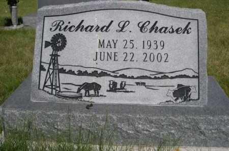 CHASEK, RICHARD L. - Dawes County, Nebraska | RICHARD L. CHASEK - Nebraska Gravestone Photos