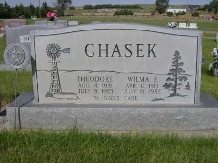 CHASEK, THEODORE - Dawes County, Nebraska | THEODORE CHASEK - Nebraska Gravestone Photos