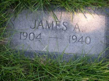 CHAULK, JAMES A. - Dawes County, Nebraska | JAMES A. CHAULK - Nebraska Gravestone Photos