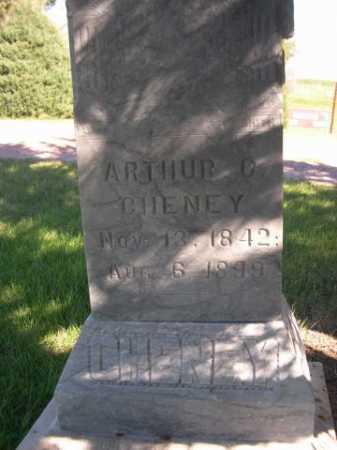 CHENEY, ARTHUR C. - Dawes County, Nebraska | ARTHUR C. CHENEY - Nebraska Gravestone Photos