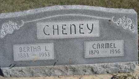 CHENEY, BERTHA L. - Dawes County, Nebraska   BERTHA L. CHENEY - Nebraska Gravestone Photos