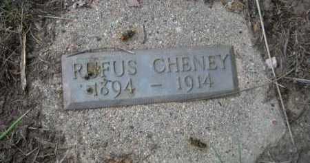 CHENEY, RUFUS - Dawes County, Nebraska   RUFUS CHENEY - Nebraska Gravestone Photos