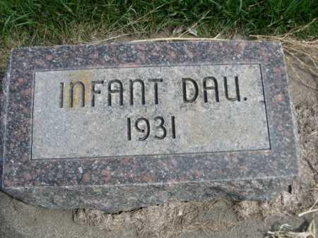 CHIZEK, INFANT DAU. - Dawes County, Nebraska   INFANT DAU. CHIZEK - Nebraska Gravestone Photos