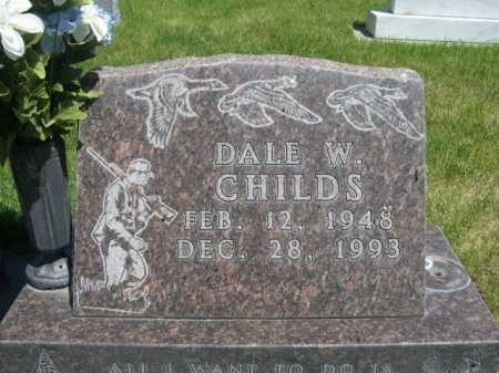 CHILDS, DALE W. - Dawes County, Nebraska | DALE W. CHILDS - Nebraska Gravestone Photos