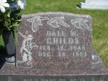 CHILDS, DALE W. - Dawes County, Nebraska | DALE W. CHILDS - Nebraska Gravestone Photos