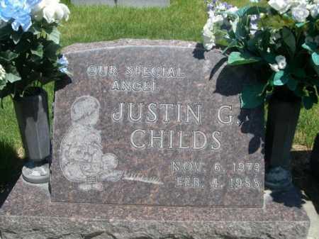 CHILDS, JUSTIN G. - Dawes County, Nebraska | JUSTIN G. CHILDS - Nebraska Gravestone Photos