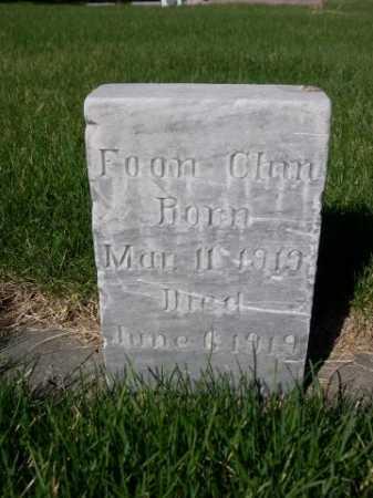 CHIN, FOON - Dawes County, Nebraska | FOON CHIN - Nebraska Gravestone Photos