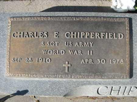CHIPPERFIELD, CHARLES E. - Dawes County, Nebraska | CHARLES E. CHIPPERFIELD - Nebraska Gravestone Photos