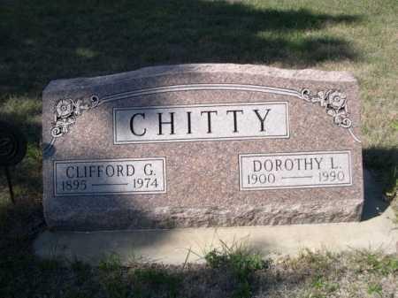 CHITTY, DOROTHY L. - Dawes County, Nebraska | DOROTHY L. CHITTY - Nebraska Gravestone Photos