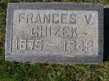 CHIZEK, FRANCES V. - Dawes County, Nebraska | FRANCES V. CHIZEK - Nebraska Gravestone Photos