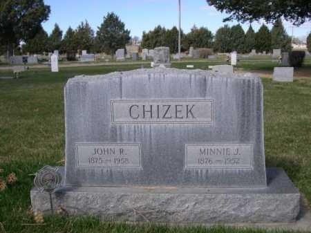 CHIZEK, JOHN R. - Dawes County, Nebraska | JOHN R. CHIZEK - Nebraska Gravestone Photos