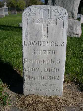 CHIZEK, LAWRENCE S. - Dawes County, Nebraska | LAWRENCE S. CHIZEK - Nebraska Gravestone Photos
