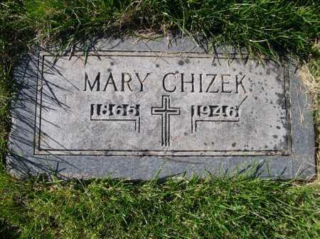 CHIZEK, MARY - Dawes County, Nebraska | MARY CHIZEK - Nebraska Gravestone Photos
