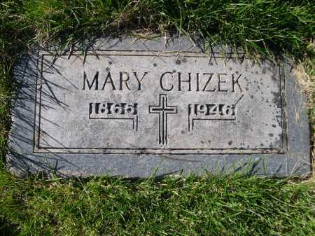 CHIZEK, MARY - Dawes County, Nebraska | MARY CHIZEK - Nebraska Gravestone Photos