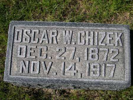 CHIZEK, OSCAR W. - Dawes County, Nebraska   OSCAR W. CHIZEK - Nebraska Gravestone Photos