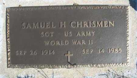 CHRISMEN, SAMUEL H. - Dawes County, Nebraska | SAMUEL H. CHRISMEN - Nebraska Gravestone Photos