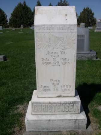 CHRISTENSEN, PETE - Dawes County, Nebraska | PETE CHRISTENSEN - Nebraska Gravestone Photos