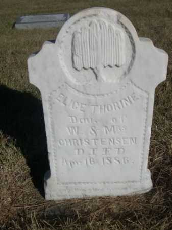 CHRISTENSEN, ELICE THORINE - Dawes County, Nebraska | ELICE THORINE CHRISTENSEN - Nebraska Gravestone Photos