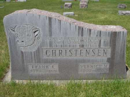 CHRISTENSEN, VERNICE M. - Dawes County, Nebraska | VERNICE M. CHRISTENSEN - Nebraska Gravestone Photos