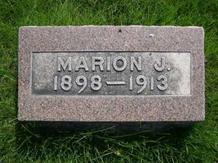 CHRISTENSEN, MARION J. - Dawes County, Nebraska   MARION J. CHRISTENSEN - Nebraska Gravestone Photos