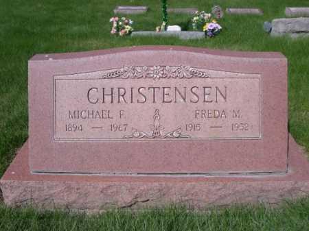 CHRISTENSEN, FREDA M. - Dawes County, Nebraska | FREDA M. CHRISTENSEN - Nebraska Gravestone Photos