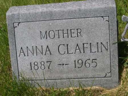 CLAFLIN, ANNA - Dawes County, Nebraska | ANNA CLAFLIN - Nebraska Gravestone Photos