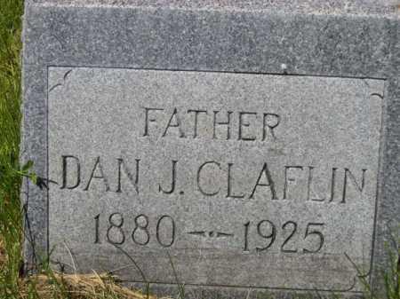 CLAFLIN, DAN J. - Dawes County, Nebraska   DAN J. CLAFLIN - Nebraska Gravestone Photos