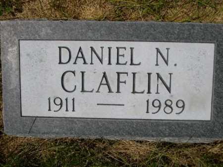 CLAFLIN, DANIEL N. - Dawes County, Nebraska | DANIEL N. CLAFLIN - Nebraska Gravestone Photos