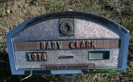 CLARK, BABY - Dawes County, Nebraska   BABY CLARK - Nebraska Gravestone Photos