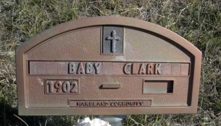 CLARK, BABY - Dawes County, Nebraska | BABY CLARK - Nebraska Gravestone Photos